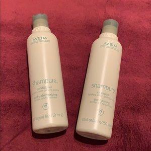 Aveda-8.5 oz Shampure Shampoo and Conditioner set